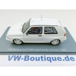 "VW Golf 2 Rallye G 60 weiss ""plain body 1989"" 1:43"