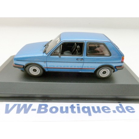VW Golf 1 GTI Pirelli from Maxichamps in 1:43  * white *  NEW 940055171