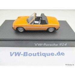 VW Porsche 914 from 1969 in orange