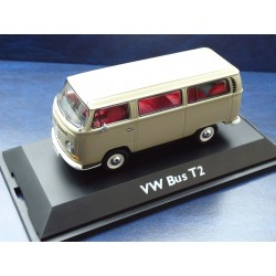 VW T2a Bus sierra-yellow / white 1:43
