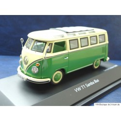 T1 Bus Samba in green-white