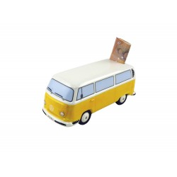 VW T2 Bulli Bus moneybox yellow ORIGINAL