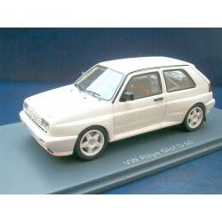 VW Golf 2 Rallye white G60 racing version 1:43