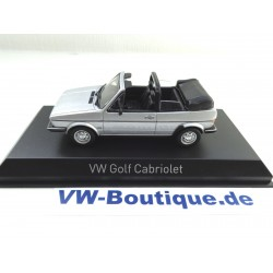 VW Golf 1 Cabrio from NOREV in 1:43  black 840074   NEW