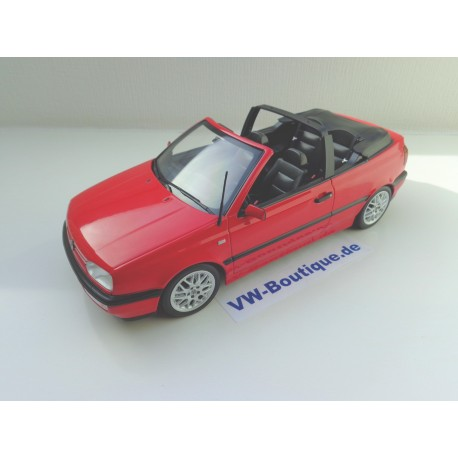VW Golf 3 Convertible from NOREV in 1:18 ++ green ++ VOLKSWAGEN NEW 188431