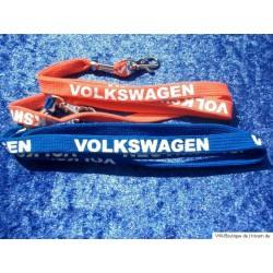 VW Keychain Set in red and blue, Original