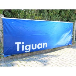 VW Tiguan banner flag black-white-red ORIGINAL