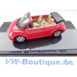 VW New Beetle Cabrio red