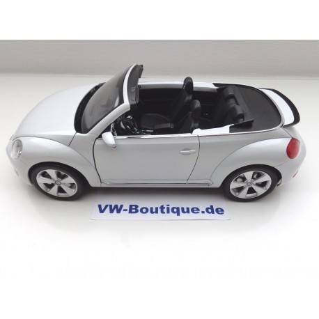 VW Beetle Cabrio Convertible from Kyosho in 1:18  +  VOLKSWAGEN   NEU   brown