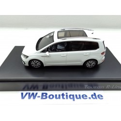 VW Touran R-Line 1:43 from Spark silver Specialmodel from VW - very rare