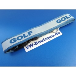 VW GOLF Keychain silver