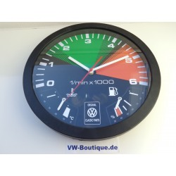 + VW Bus Bulli T3 Wall Clock, ORIGINAL T1 T2 T3 T4 T5 T6 Multivan