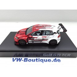 VW Golf 7 GTI TCR, 1:43 Tourenwagen 2018 5GV.099.300.E.645