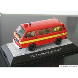 VW T3 a Bulli Bus Fire Department 112