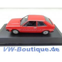 VW Scirocco 1 von Maxichamps in 1:43  rot 940050422