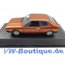 VW Scirocco 1 from Maxichamps in 1:43  brown metallic 940050421