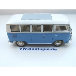 VW T1 Bus sun roof chrome wheels Lowrider red 1:24