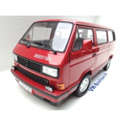 Volkswagen VW T3 b Bus Multivan Redstar in 1:18 Norev 188542  NEU