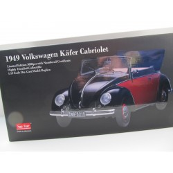 VW Beetle 1200 Brezel Convertible in 1:12  Sunstar 1949  VOLKSWAGEN NEW 5211