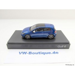 VW Golf R 7 VII lapiz blue