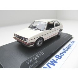VW Golf 2 GTI from Minichamps in 1:43  - white - VOLKSWAGEN   400054121 NEW