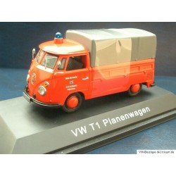 "VW T1 Bus flatbed firefighters ""Lauf a.d. Pegnitz Schoenberg"""