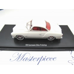 VW Karmann Ghia Convertible black Minichamps 1:24 241245016 NEW