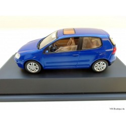VW Golf 5 2 doors Blue