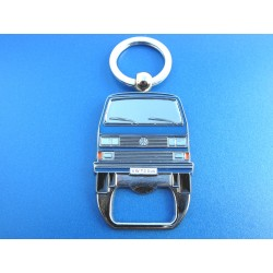 VW T2 Bus Keychain with Bottle Opener - ORANGE