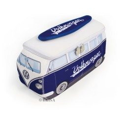 VW T3 Bus Keychain with Bottle Opener - white