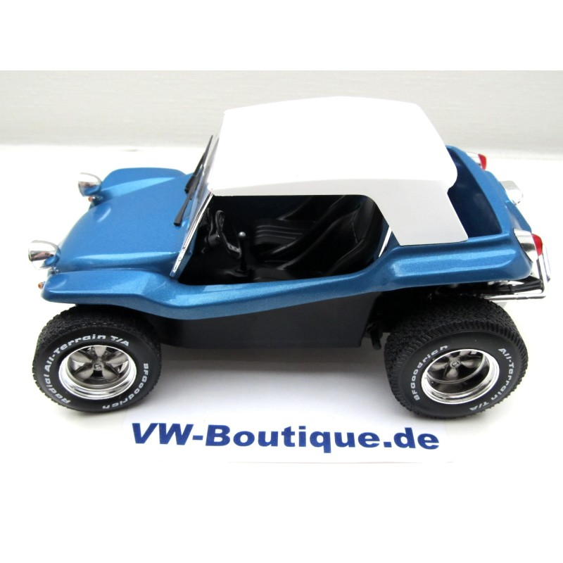 VOLKSWAGEN VW Buggy Meyers Manx 1:18 by Solido blue NEW
