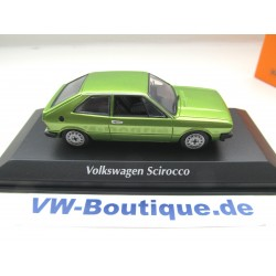 VOLKSWAGEN VW Scirocco 1 from Maxichamps in 1:43  yellow 940050424