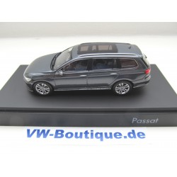 VOLKSWAGEN VW Passat Estate B8 1:43 Herpa 3G9.099.300.A.B8R black oak New