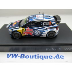 VOLKSWAGEN VW Polo WRC 1:43  6C1.099.300.B Latvala 2 NEW