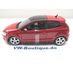 VOLKSWAGEN VW Polo GTI 1:24 Bburago red NEW 18-21059