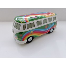 VW T1 Bulli Bus Moneybox green ORIGINAL
