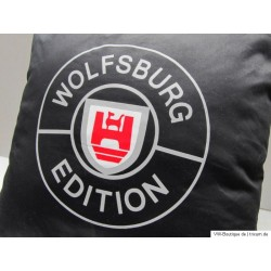 VW WOLFSBURG EDITION cushion black white red