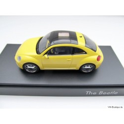 VW Beetle yellow glass roof
