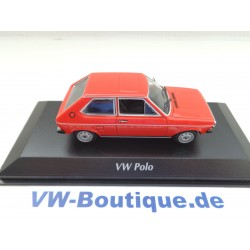 VOLKSWAGEN VW Polo 1 from Maxichamps in green 1:43  new  940050501