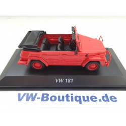 VOLKSWAGEN VW 181 Kübel from Maxichamps in 1:43  oliv new 940050030