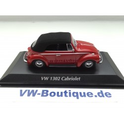 VOLKSWAGEN VW Beetle Convertible 1302 1:43 Maxi- / Minichamps red ORIGINAL 940055031