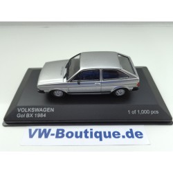 VOLKSWAGEN VW GOL BX from Whitebox in 1:43  ++ silver +++  new  WB065