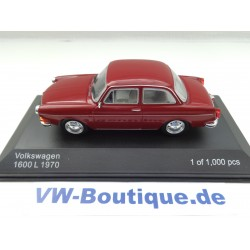 VOLKSWAGEN VW 1600 L Typ 3 von Whitebox in 1:43   rot  neu  WB274