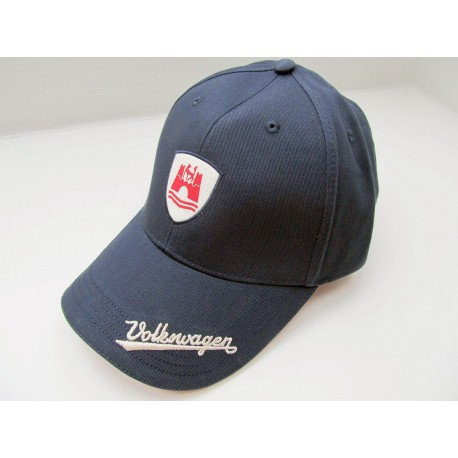 VW Basecap Cap VOLKSWAGEN in blue / red