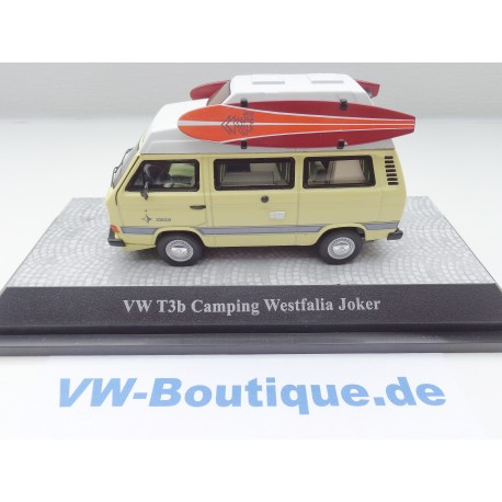 VW T3 b Hochdach Club Joker blue metallic  - only 500 pieces - 1:43