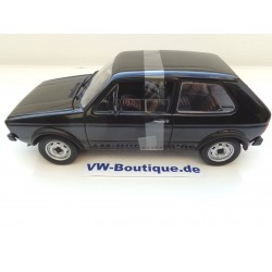 VOLKSWAGEN VW Golf 1 GTI from NOREV in 1:18  ++ black ++  188487