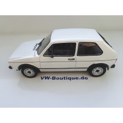 VOLKSWAGEN VW Golf 1 GTI from NOREV in 1:18  ++ white ++  188484