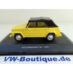 VOLKSWAGEN VW 181 Kübel from Maxichamps in 1:43  red new 940050031