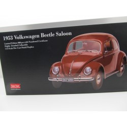 VW Beetle 1200 Brezel in 1:12 grey Sunstar 1950  VOLKSWAGEN NEW 5202