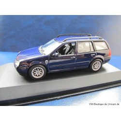 VW Golf 4 Variant in dark blue 1:43